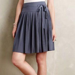 Anthropologie // Leifsdottir pleated skirt